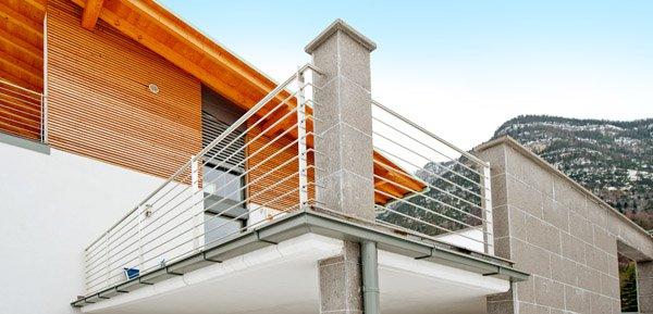 ringhiere per balconi ringhiere : Ringhiere per balconi - Progetto 6 - Vorhauser