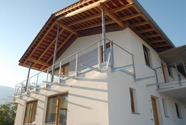 Ringhiere per balconi progetto 14 vorhauser - Ringhiere per terrazzi ...
